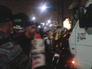 """Movimento """"Passe Livre"""" em Carapicuíba."""