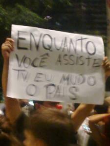 "Movimento ""Passe Livre""."