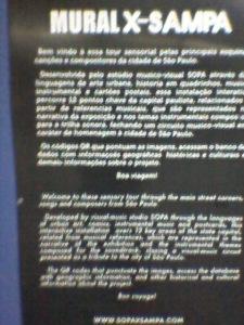 Exposição do Metrô República.