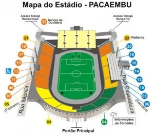 Mapa de acesso.