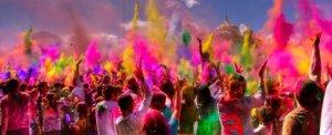 Holi Festival - Festival das Cores.