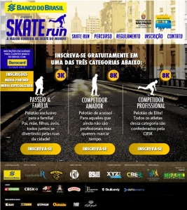 Skate Run.