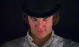 Malcolm McDowell como Alex DeLarge.
