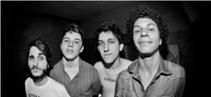 Da esquerda para a direita: Vitor, Cauê, Renan e Filipe.