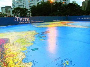 Mapa Mundi de 200m².
