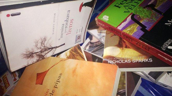 Ganhar livro é melhor que roupa!