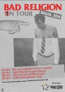 Tour Bad Religion.
