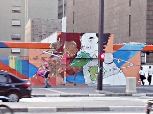 Do outro lado da Paulista.