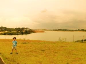 Ang no Parque da Lagoa.