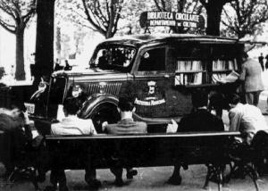 Antiga biblioteca circulante.