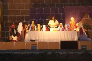 """O drama """"A Paixão de Cristo""""."""