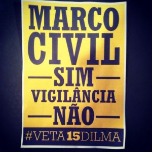 Veta Dilma Cartaz