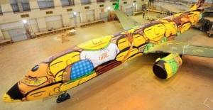 Avião da seleção brasileira de futebol.