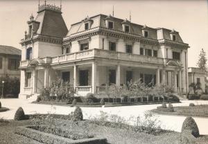 Casa das Rosas no começo do século XX. Fonte:http://antigoemoderno.blogspot.com.br/