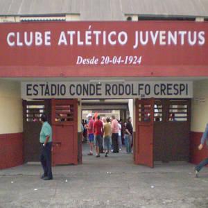 Estádio, um dos símbolo do Juventus, na rua Javari. (Foto: Domínio público)