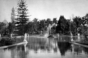 Lago do Parque da Luz antes da Reforma. Fonte: CLIQUE AQUI