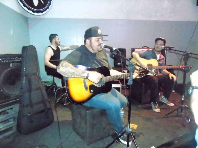 Hateen no Projeto Bandas Novas (Foto: Fernanda Saraiva)